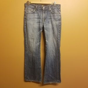 7 For All Mankind   Men's Bootcut Jeans (Size 32)